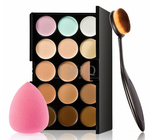 15 color Concealer Contouring kit