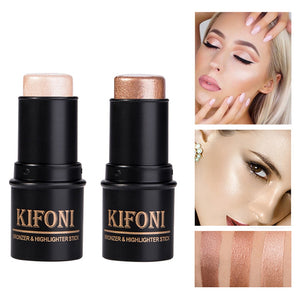 2 In1 3D Bronzer&Highlighter Stick