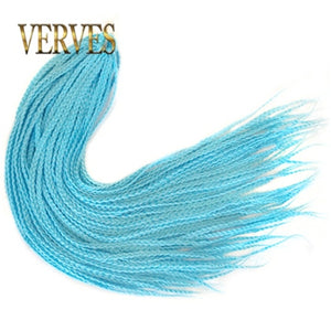 VERVES Crochet 24 inch Ombre Synthetic Braids