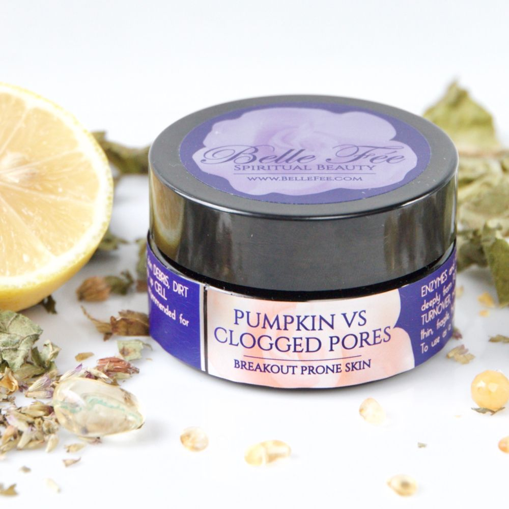 Pumpkin Vs. Clogged Pores