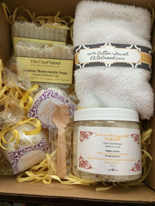 Jasmine Honeysuckle Bath Gift Set