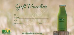 Voucher for 7 day Juice Program