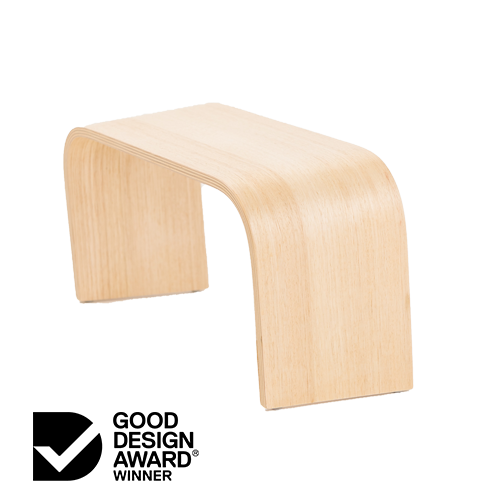 Proppr Bathroom Footstool - Tasmanian Oak