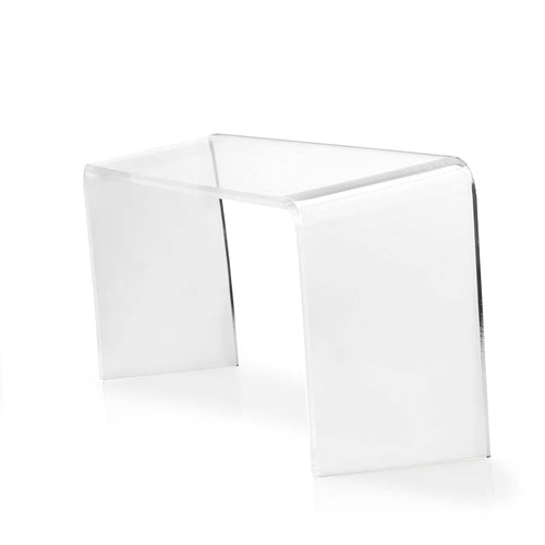 Proppr Bathroom Footstool - Clear Acrylic