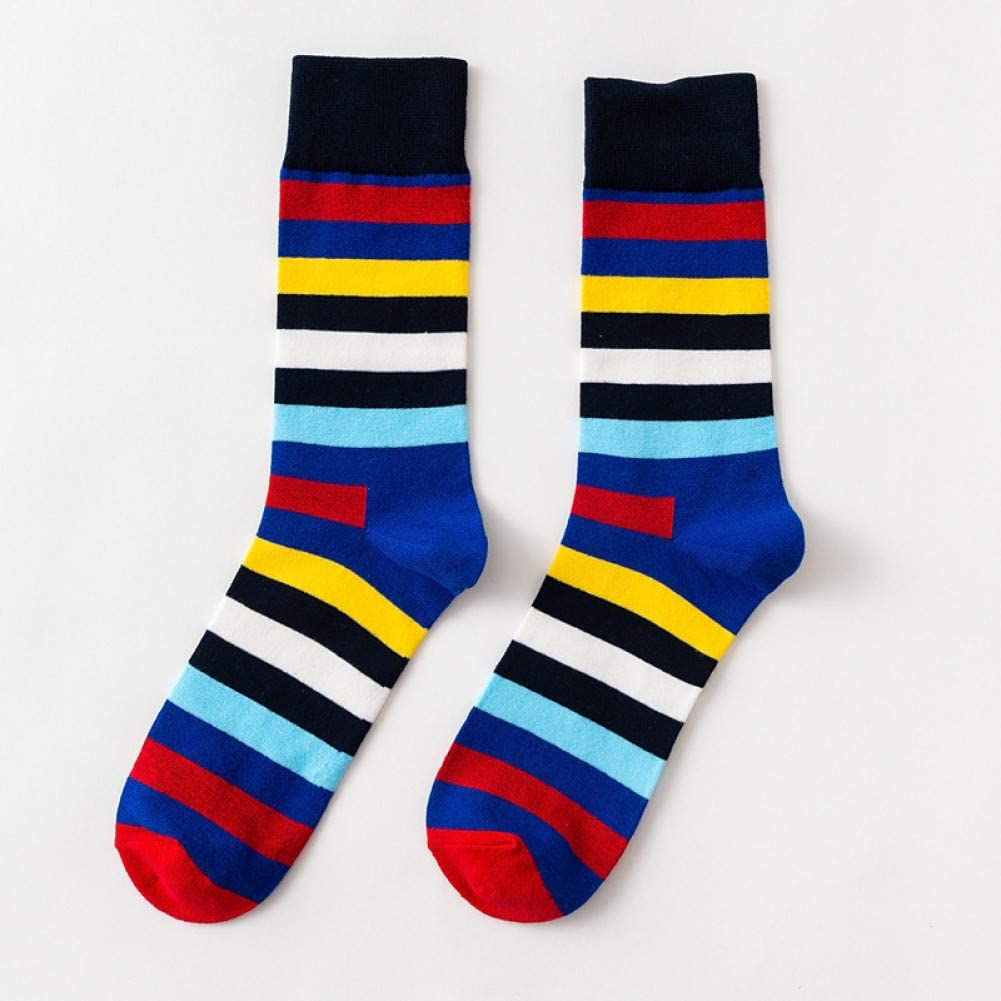 Multi coloured stripey sock