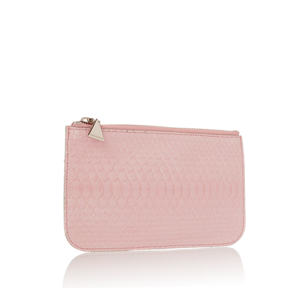 Python Top Zip Pouch - Rose