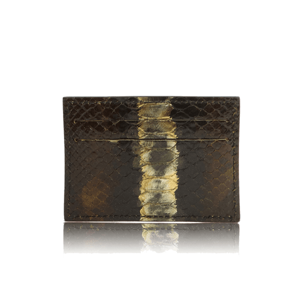 FL by NADA SAWAYA Card Case Python Card Case
