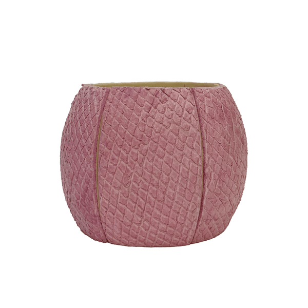 FL by NADA SAWAYA Fashion Jewelry Pink Leather & Wood Cuff Bracelet