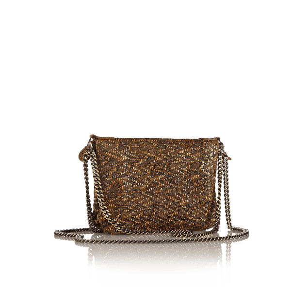 FL by NADA SAWAYA Mini Bags Tan Bibi - Mini Leather Bag