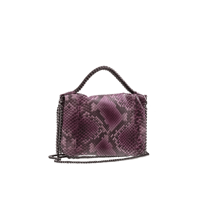 FL by NADA SAWAYA Mini Bags Burgundy Bibi - Mini Python bag