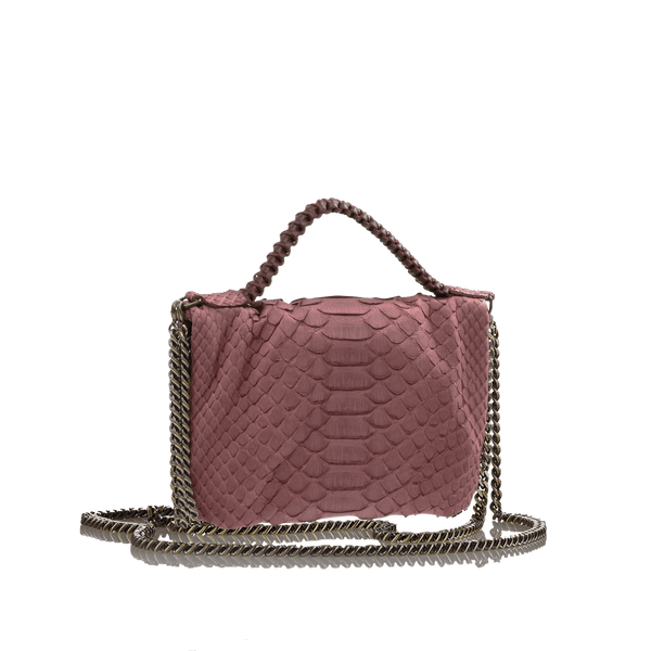 FL by NADA SAWAYA Mini Bags Cinnamon Bibi - Mini Python bag