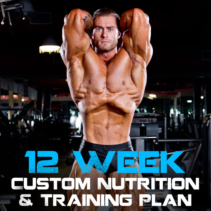12 Week Custom Nutrition and Training Plan