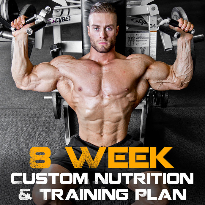 8 Week Custom Nutrition And Training Plan