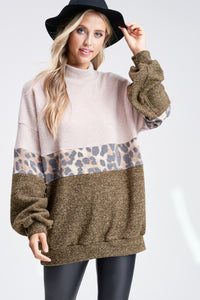 Cheetah Sweatershirt