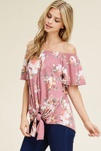 Load image into Gallery viewer, Off-the-shoulder Floral