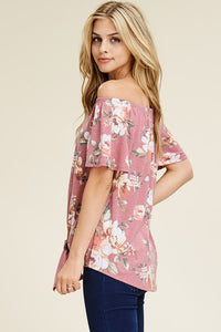 Off-the-shoulder Floral