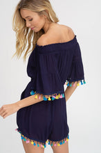 Load image into Gallery viewer, Colorful Trim Romper