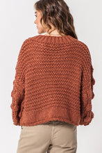 Load image into Gallery viewer, Brick Textured Sweater