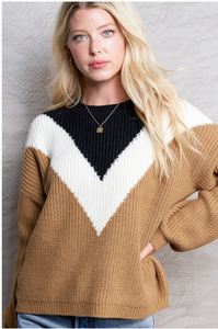 Camel Victory Sweater