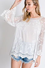 Load image into Gallery viewer, Boho Floral Top