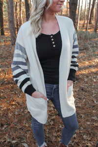 The Riley Striped Cardigan