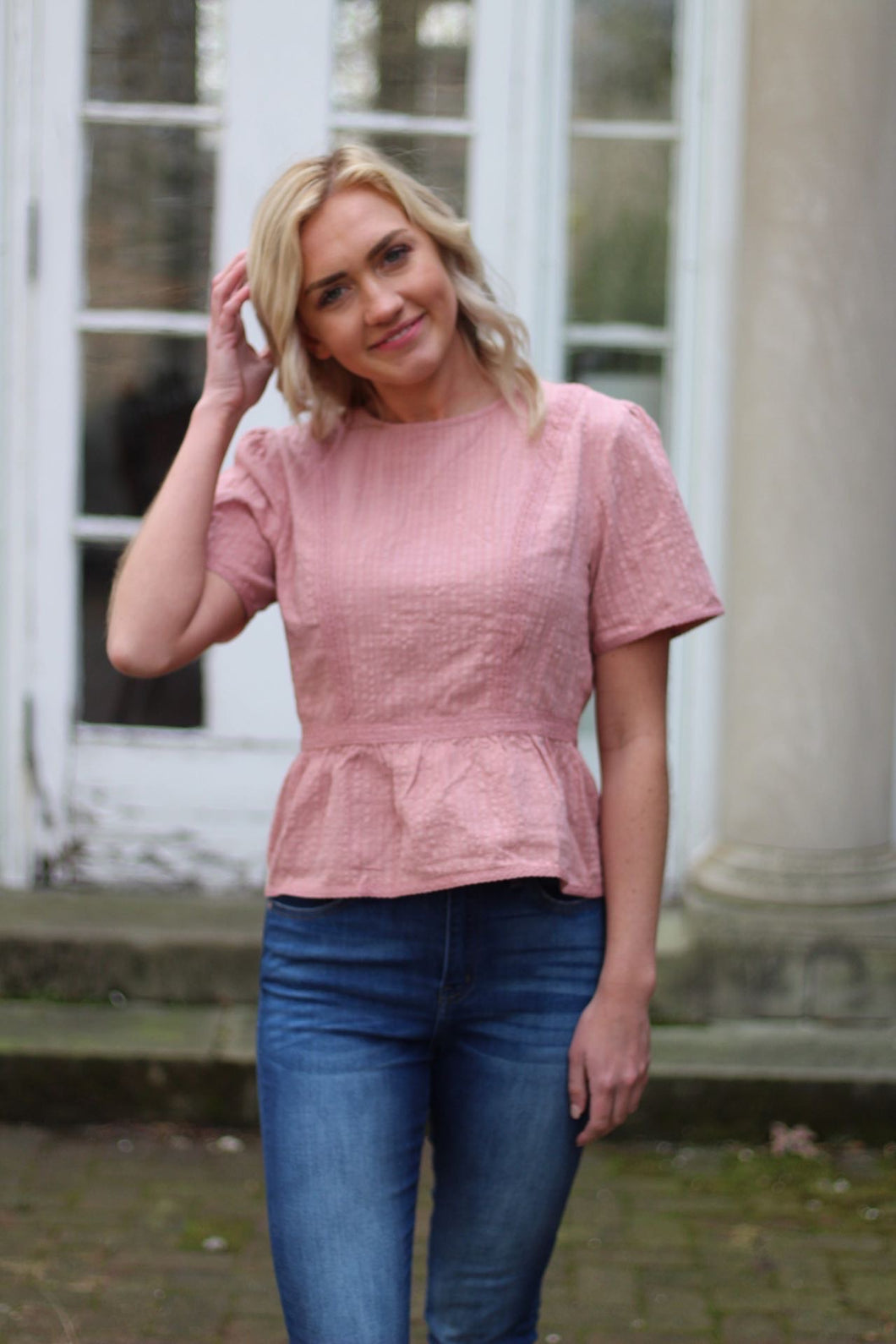 The Ella Coral Top