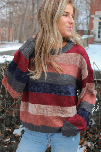 The Reagan Striped Sweater