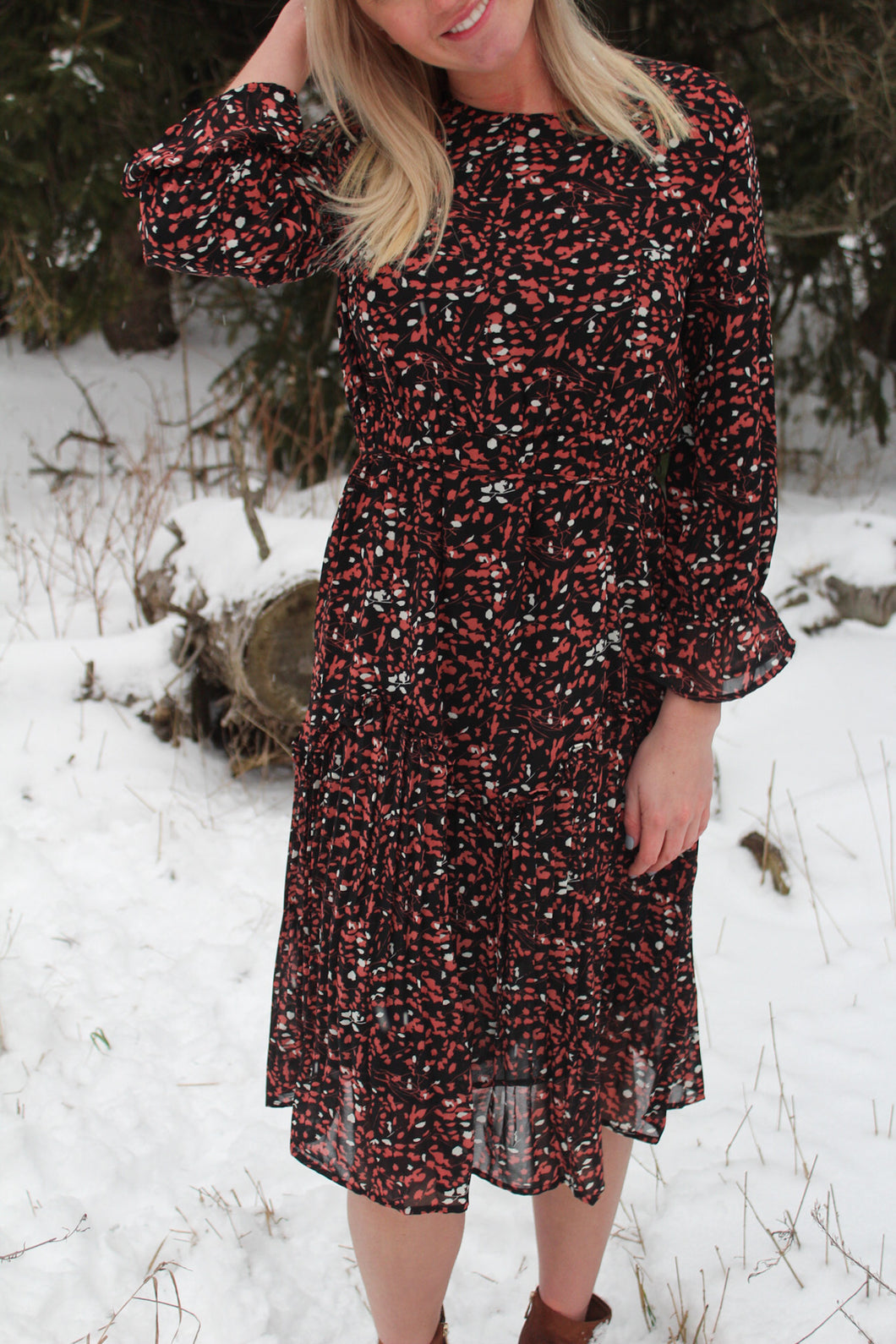 The Katie Floral Dress
