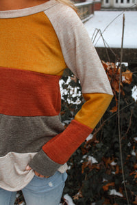 The Amber Striped Long Sleeve