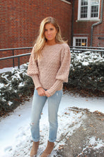 Load image into Gallery viewer, Mauve Pom Pom Sweater