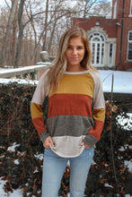 Load image into Gallery viewer, The Amber Striped Long Sleeve