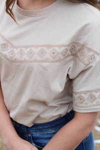 The Mykenna Embroidered Top