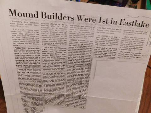Edgar Cayce Proves Eastlake, OH is Home of the The Nephilim Mound Builders