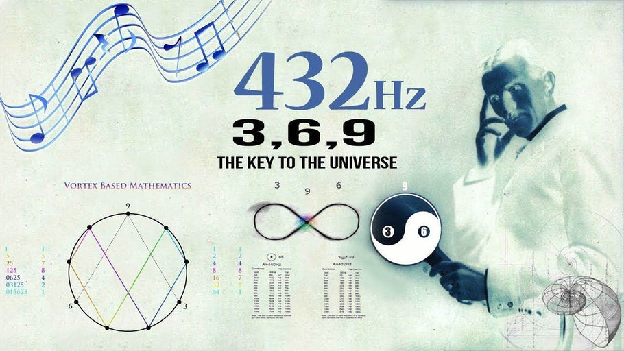 432 Hz – Unlocking The Magnificence Of The 3 6 9, The Key To The Universe!