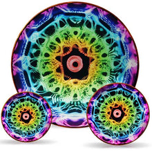 Load image into Gallery viewer, Anunnaki Reverse 432 Chakra Healing Disk 3-Piece Set