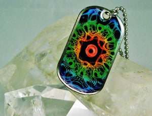 432 HZ Rainbow Warrior Eagle Necklace!
