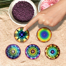 "Load image into Gallery viewer, 2"" Mini Chakra Disk Collection (5)"