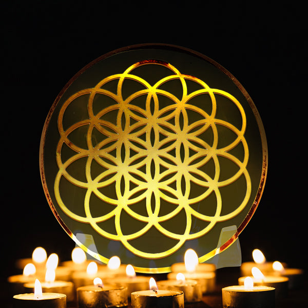 Flower Of Life - Golden Abundance Disk 6