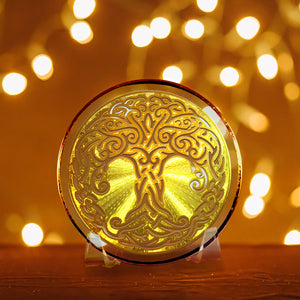 Tree of Life - Golden Abundance Disk 6""
