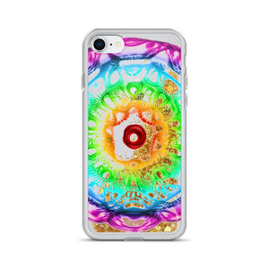 432 HZ Liquid Glitter  iPhone Case