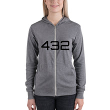 Load image into Gallery viewer, Ladies 432 zip hoodie