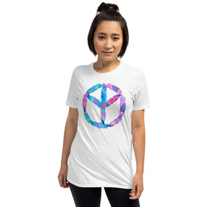 Native American First Nation Tree Of Peace Artwork - Short-Sleeve Unisex T-Shirt