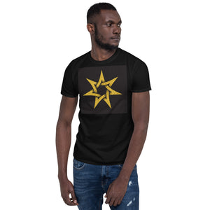 7-Pointed Star - Short-Sleeve Unisex T-Shirt
