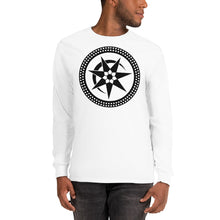 Load image into Gallery viewer, Anunnaki Communications Eclipse Crop Circle Long Sleeve T-Shirt