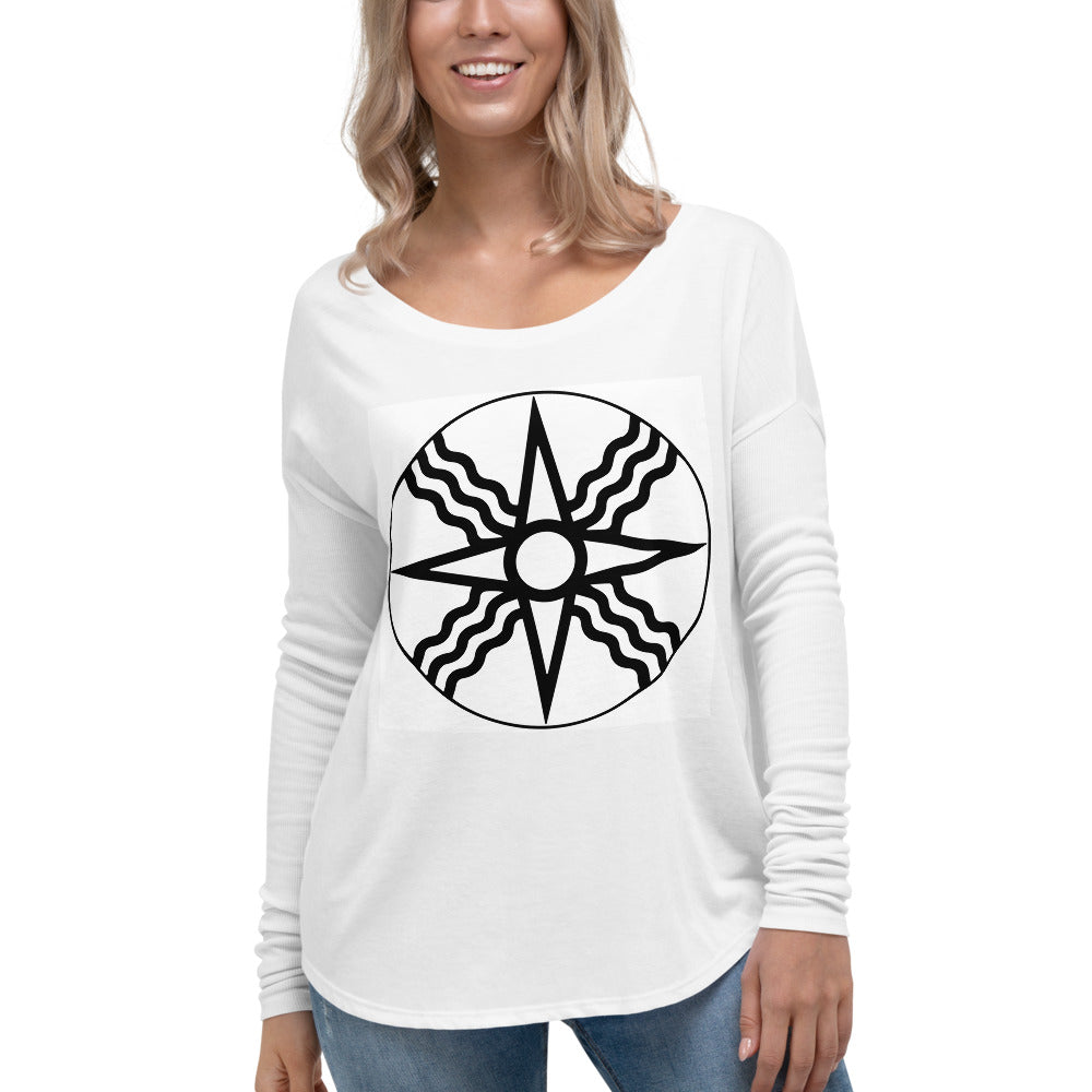 Ladies Morningstar Long Sleeve Tee