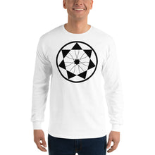 Load image into Gallery viewer, Anunnaki Communications 7th Seal Crop Circle Long Sleeve T-Shirt