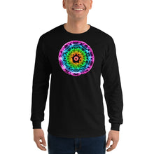 Load image into Gallery viewer, Men's 432 Hz Purple to Red Long Sleeve Shirt