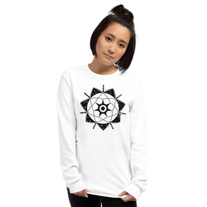 Anunnaki Communications Ea - Enki Crop Circle Long Sleeve T-Shirt