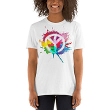 Load image into Gallery viewer, Native American Tree Of Peace - Short-Sleeve Unisex T-Shirt