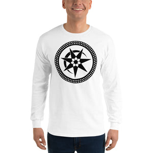 Anunnaki Communications Eclipse Crop Circle Long Sleeve T-Shirt
